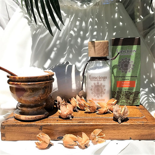 """Refreshing"" Botanical Mineral Bath Product"