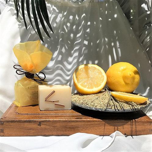 """Lemongrass"" Natural Soap"