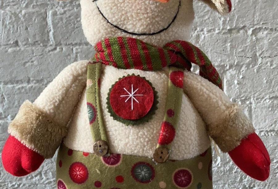 Large Christmas Snowman - Tall