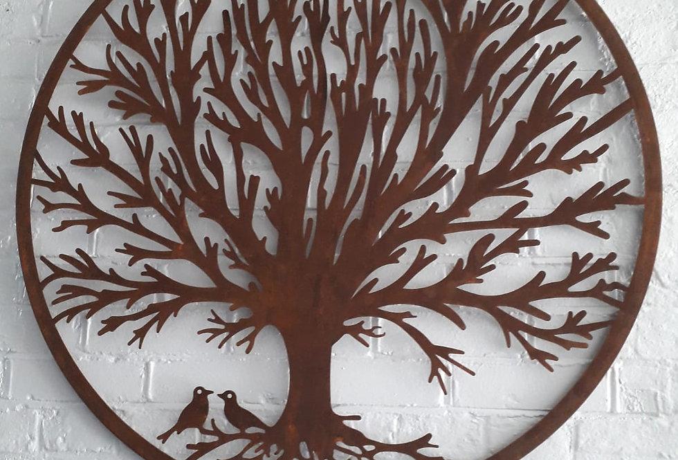Garden Wall Mount - Tree