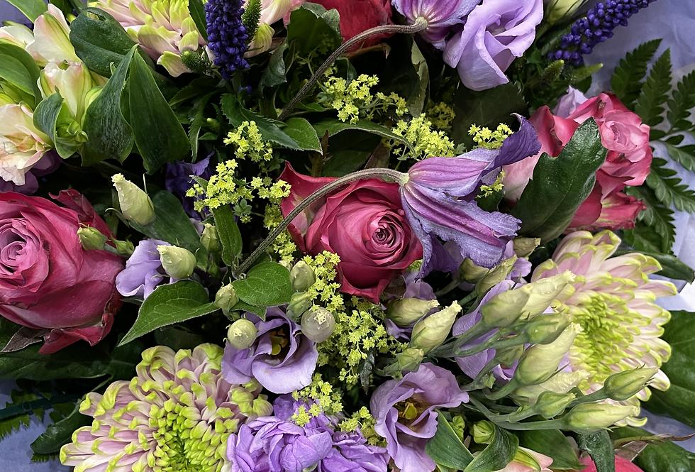 Deep Pink - Florist Seasonal Bouquet