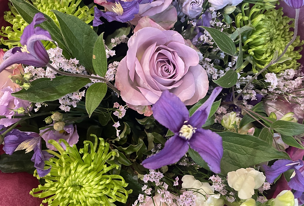 Mauve - Florist Seasonal Bouquet
