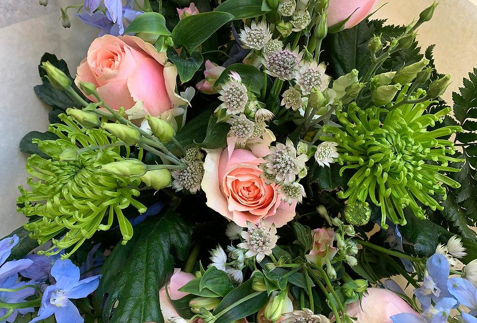 Peach - Florist Seasonal Bouquet