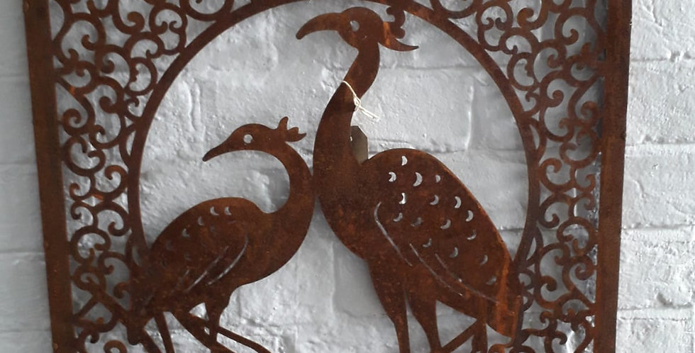 Wall mount - Square/Birds