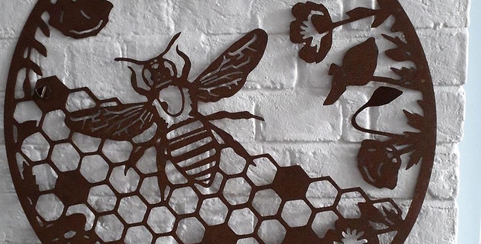 Garden Wall Mount - Bee