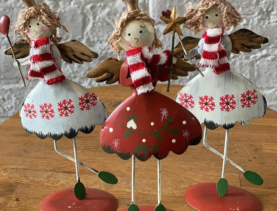 Metal Christmas Fairy