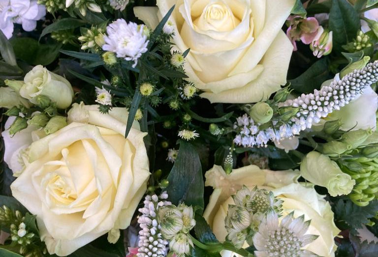 White - Florist Seasonal Bouquet