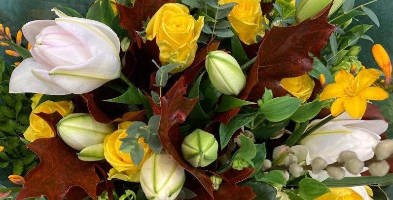 Yellow - Florist Seasonal Bouquet