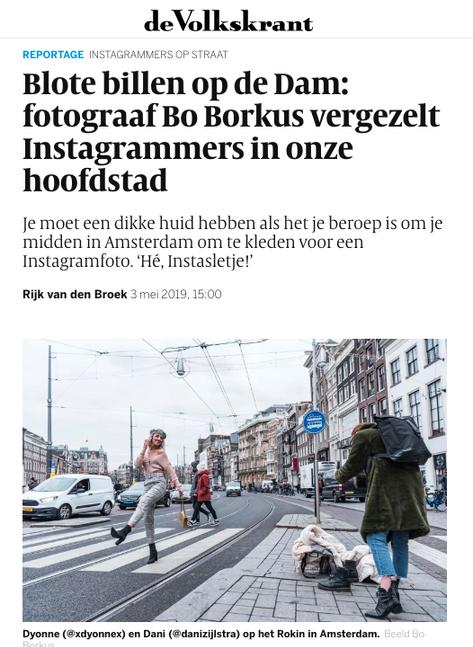 Publicatie Volkskrant Magazine