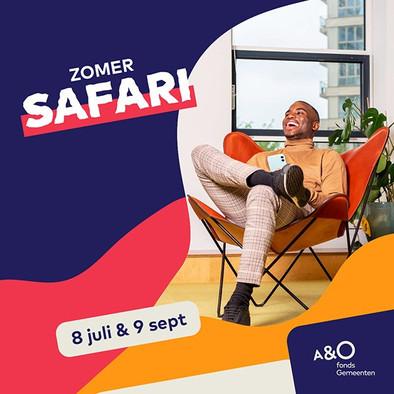 A&O Zomer Safari banner
