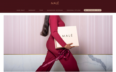 Malé business wear
