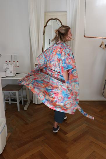 Workshop Kimono  Carolin Berger & Denise Hirtenfelder In Collaboration with ZAMMNAHN, Sigrid Wenter Innsbruck 2020
