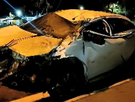 Motorista morre após capotar veículo na Rodovia dos Bandeirantes em Hortolândia
