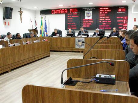 Vereadores de Sumaré participam da 5ª Sessão Ordinária na Câmara