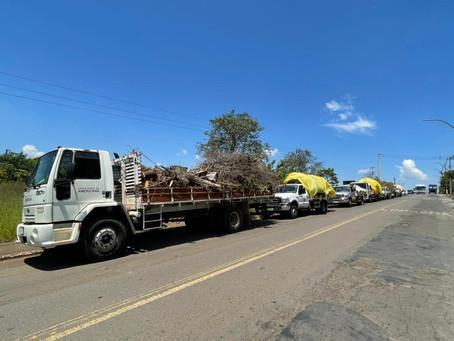 Prefeitura de Americana faz mutirão dos 100 Dias de Limpeza recolhe 13 toneladas de materiais