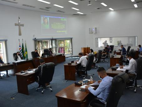 Vereadores aprovam três projetos na 7ª reunião ordinária do ano,em Santa Barbara