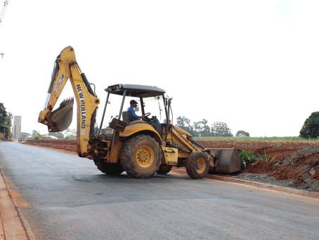 As obras de ampliação e pavimentação de rua que liga bairros de Americana estão sendo concluída