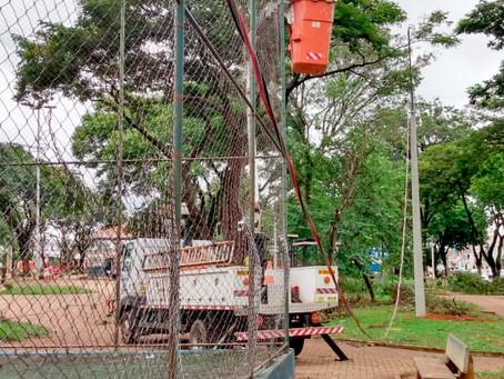 Praça Oscar Ignácio de Souza no bairro Cidade Jardim em Americana receberá iluminação de LED