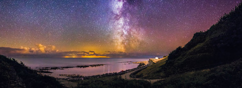 The Milky Way over Ventnor