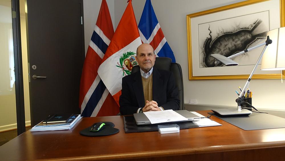 Salinas venter på å fortsette sin ambassadørgjerning i Riyadh. Hans arvtager kommer fra ambassaden i Moskva.