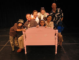 Angela's Flying Bed, Children's musical by Dave Hall