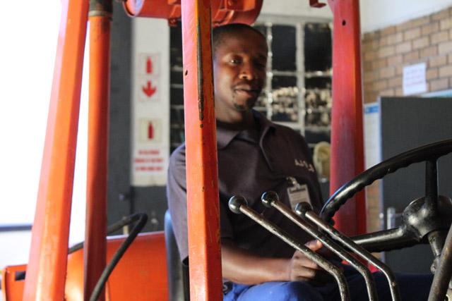 Forklift Driver - Elvis Kilani