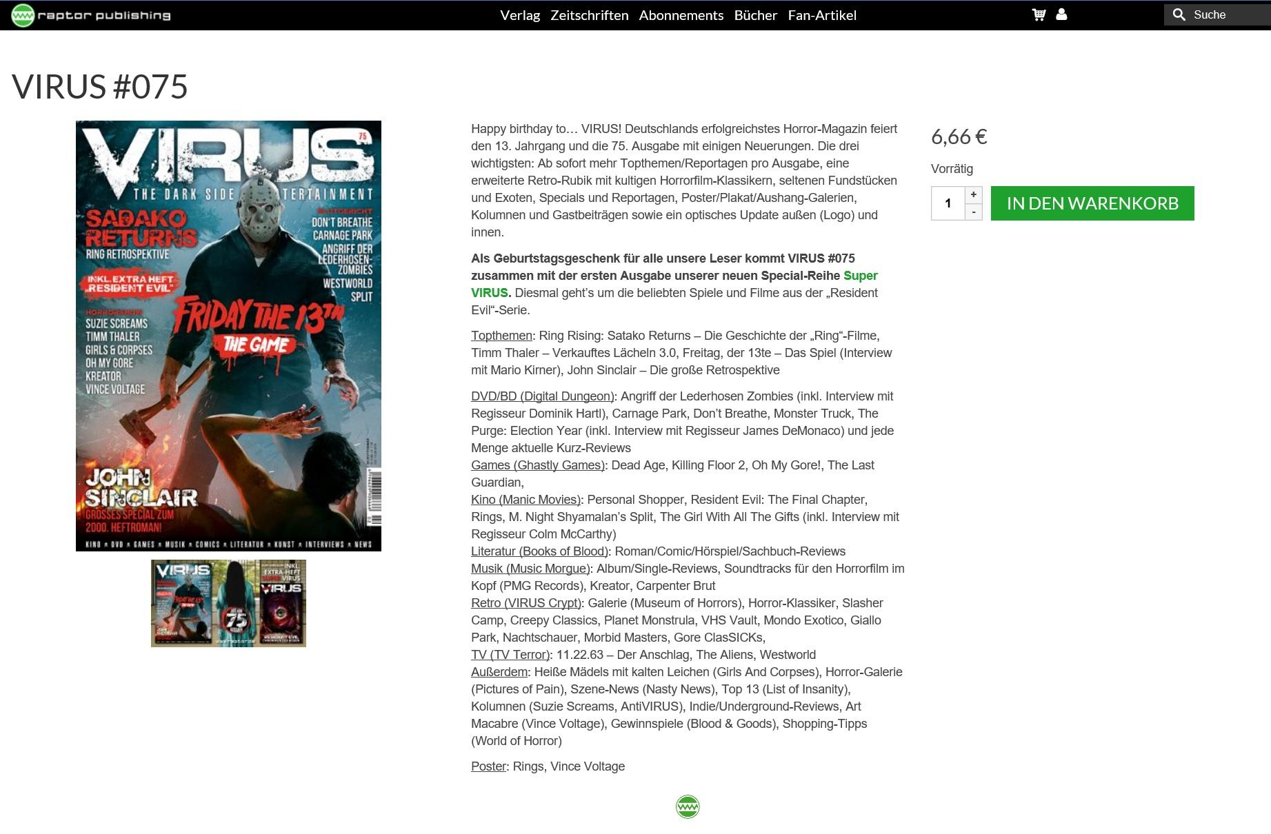 Virus Magazin