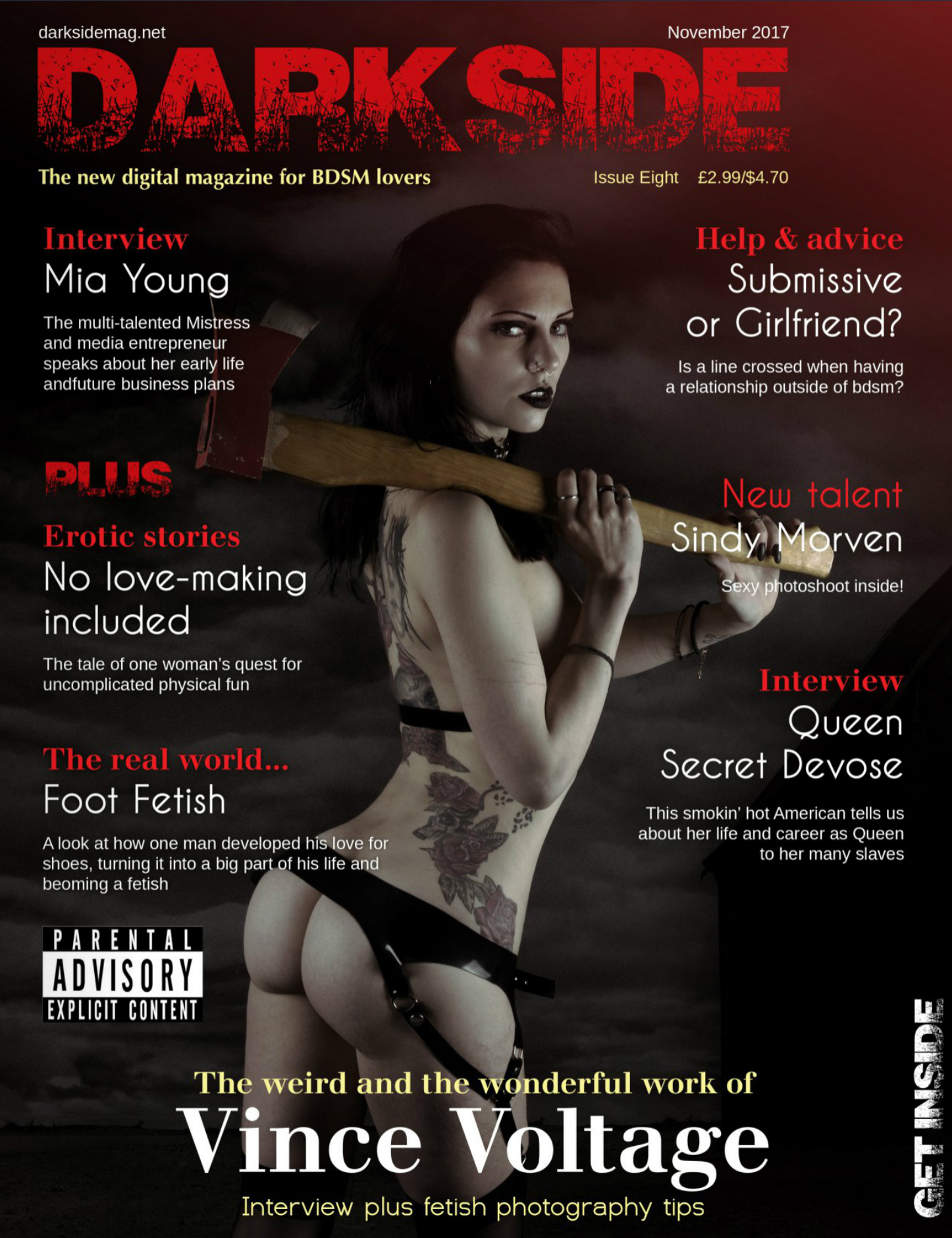Darkside magazine cover