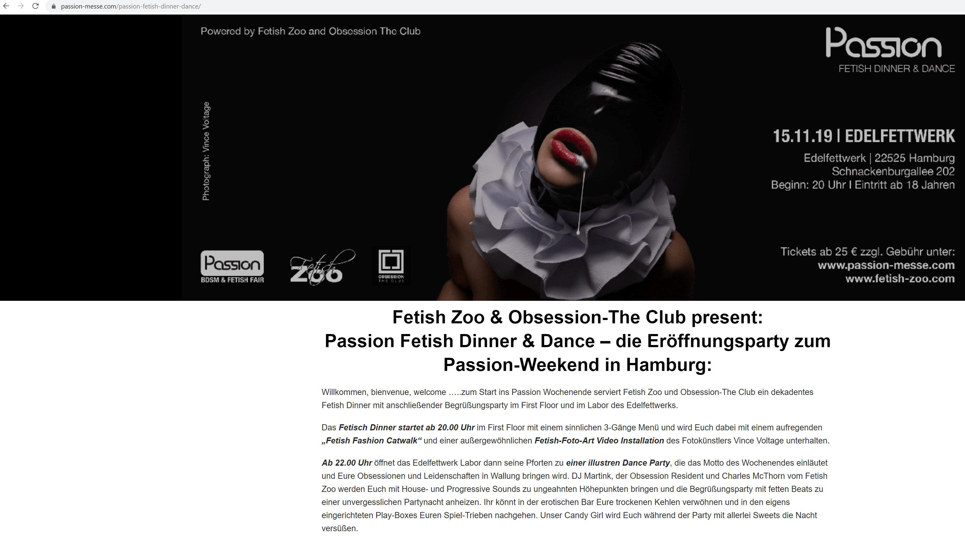 passion Videoinstallation
