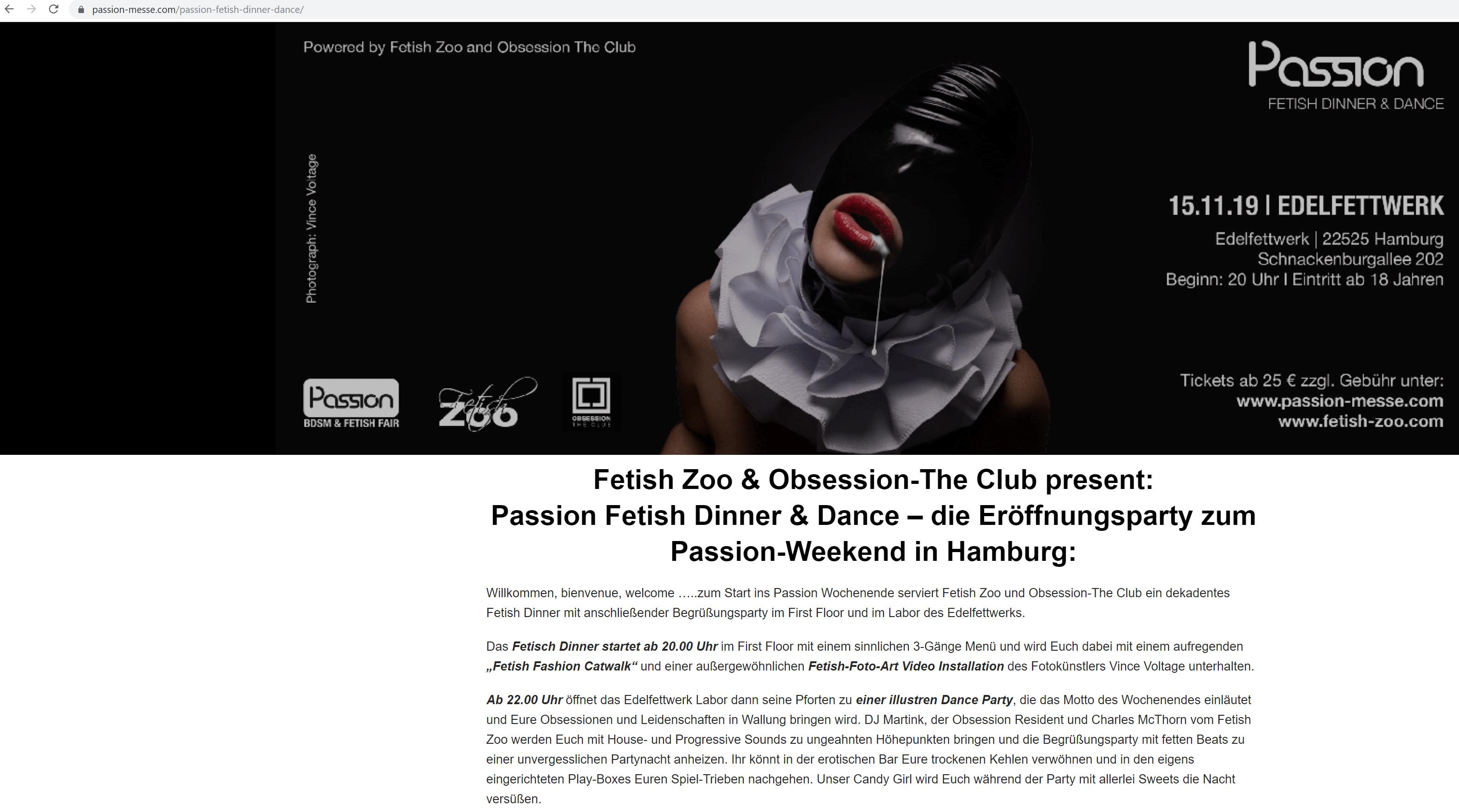 passion Videoinstallation