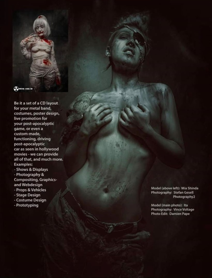 Dominate me magazine 2019