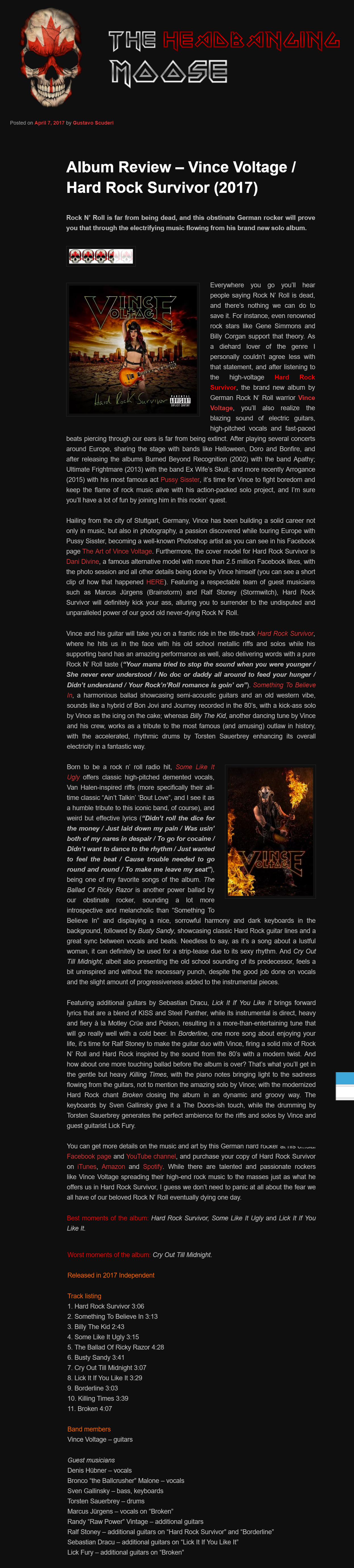 the headbanging moose online mag