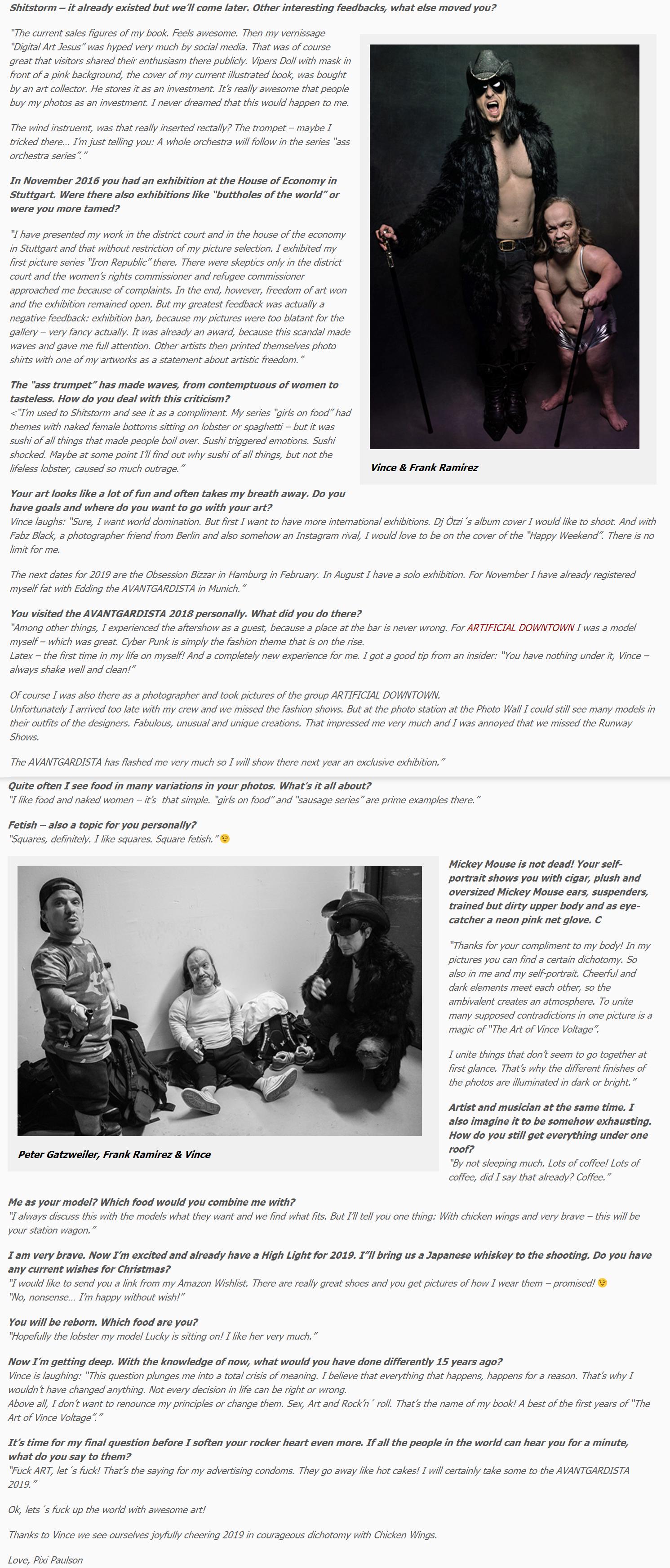 Avantgaridsta Interview with Pixi