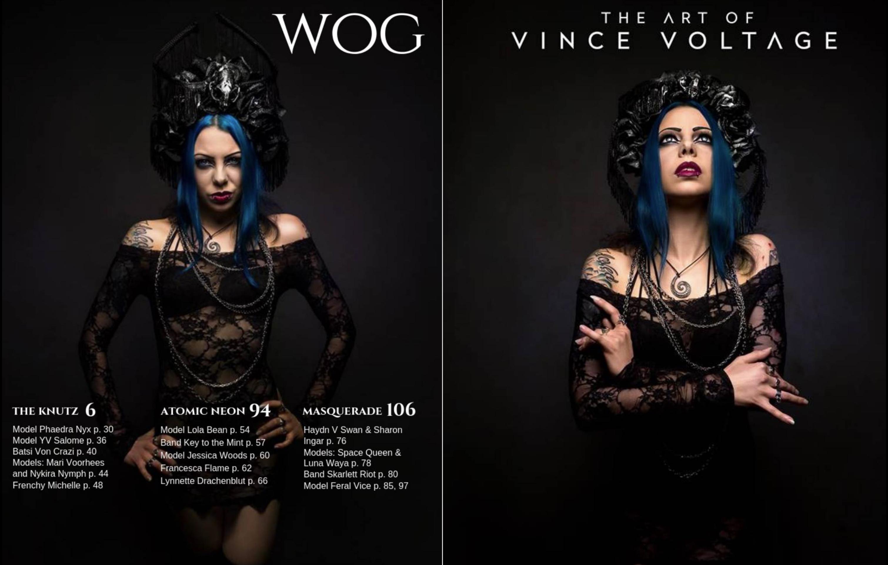 World of Gothic magazine feature