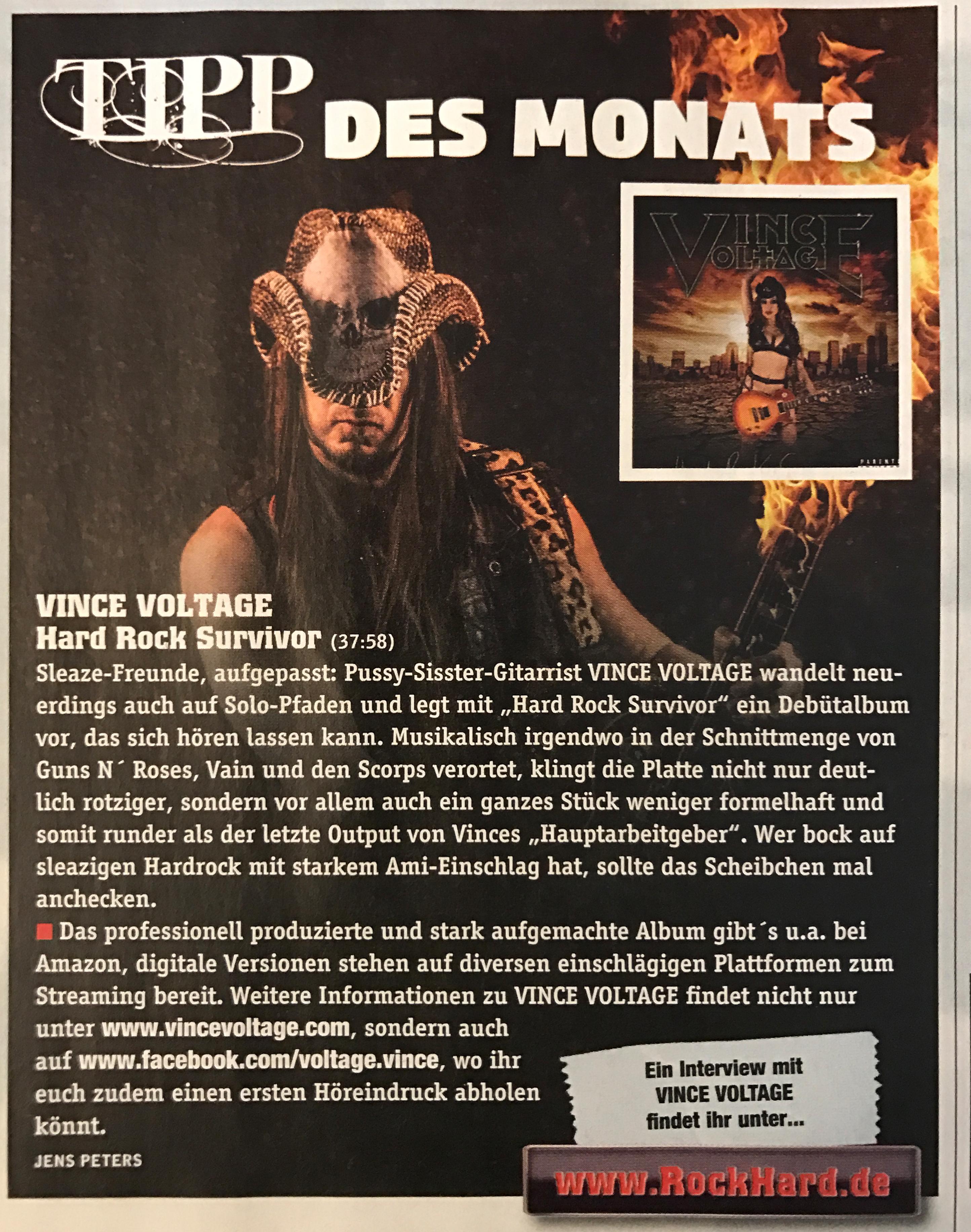 Rockhard magazine