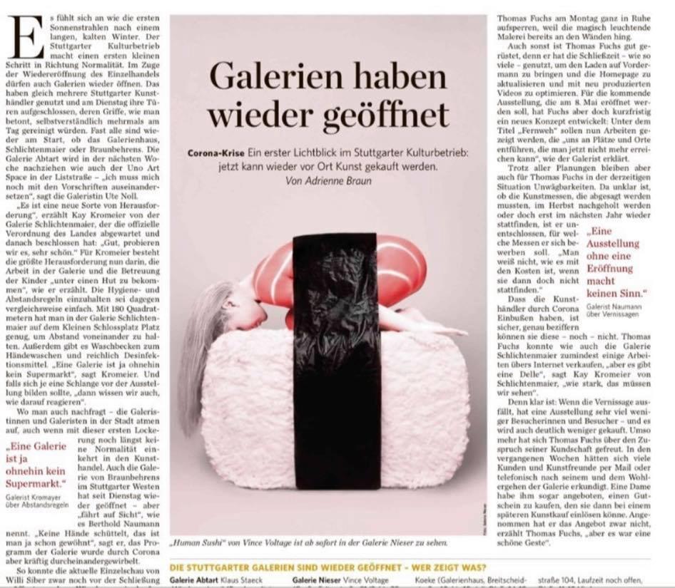Stuttgarter Zeitung April 2020