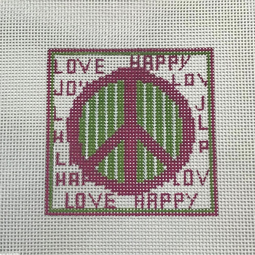 Love Happy Peace Sign