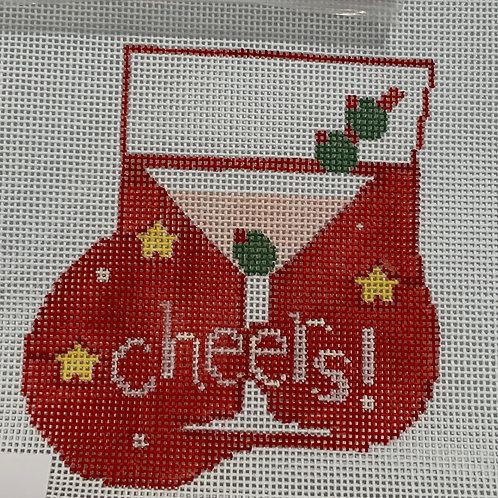Cheers mini stocking
