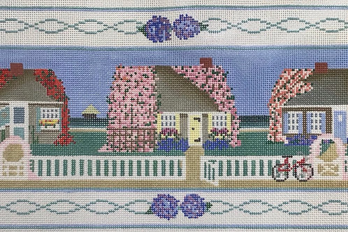 3 Houses Flowers
