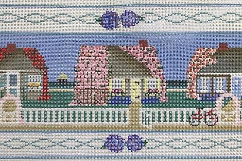 3 Houses Flowers