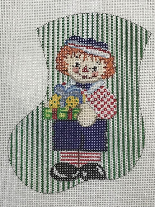 Raggedy Ann Stocking
