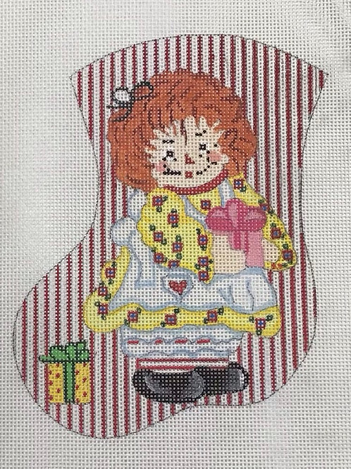 Raggedy Ann Stocking 2