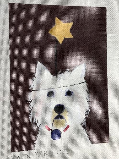 Westie with a Star