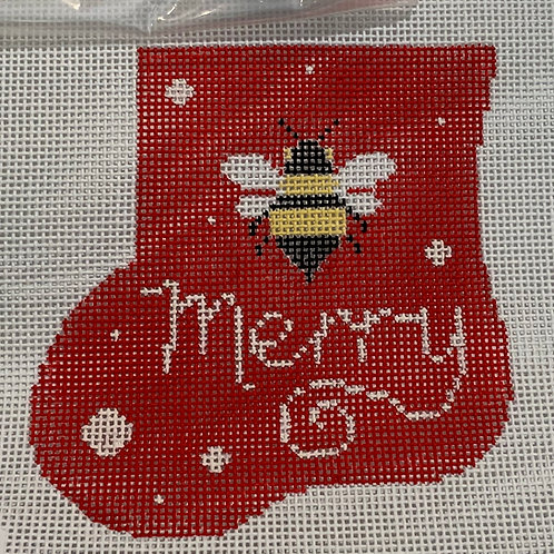Bee Merry Stocking