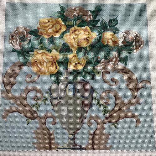 Fancy Vase of Flowers
