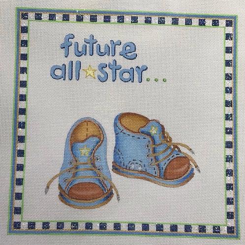 Future All Star Birth Sampler