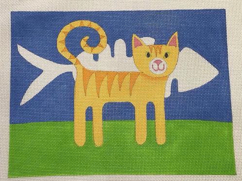 Fishbone Cat