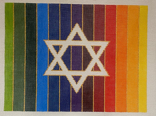 Rainbow Star of David