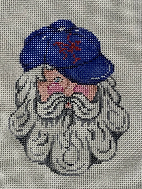 Santa in Yankees Cap