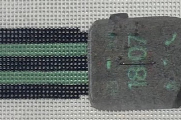 Green and Black Watch Band